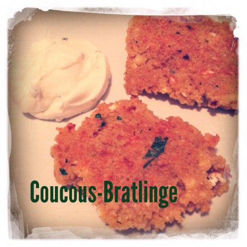 Couscous Bratlinge