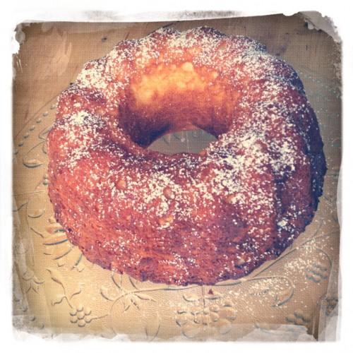 Zitronen Ricotta Kuchen